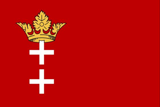 Flaga Wolnego Miasta Gdańska
