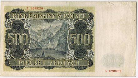 Rewers górala z 1940 roku