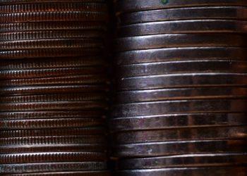 zdjęcie z monetami